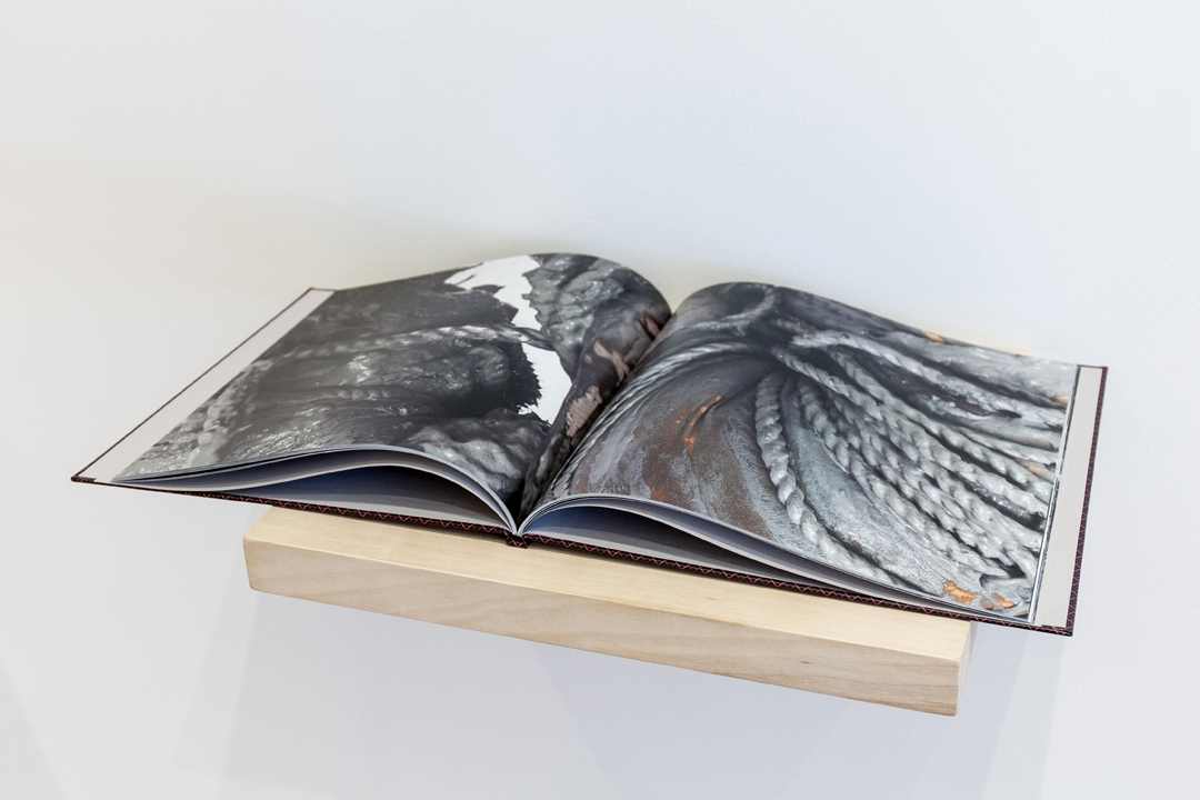 "Young Joon Kwak, ""Aggregate Body (Book),"" 2014. Edition of 50 + 2 Exhibition copies, 12 x 12  x 1/2""."