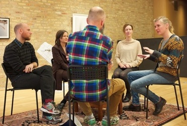Symprovisation on Art and Empathy_ Rehearsal at Sector 2337, Chicago on November 5, 2014
