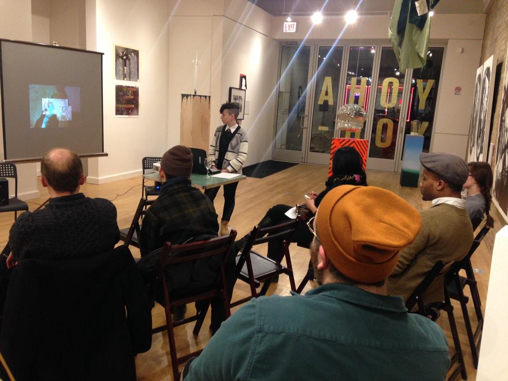 """""""The communities from which we speak are made possible by the particular spaces we inhabit"""" December Artist in Residence Daviel Shy talks about her cinematic  homage to Djuna Barnes. The Ladies Almanack"""
