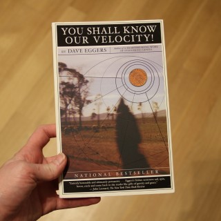 you shall know our velocity!