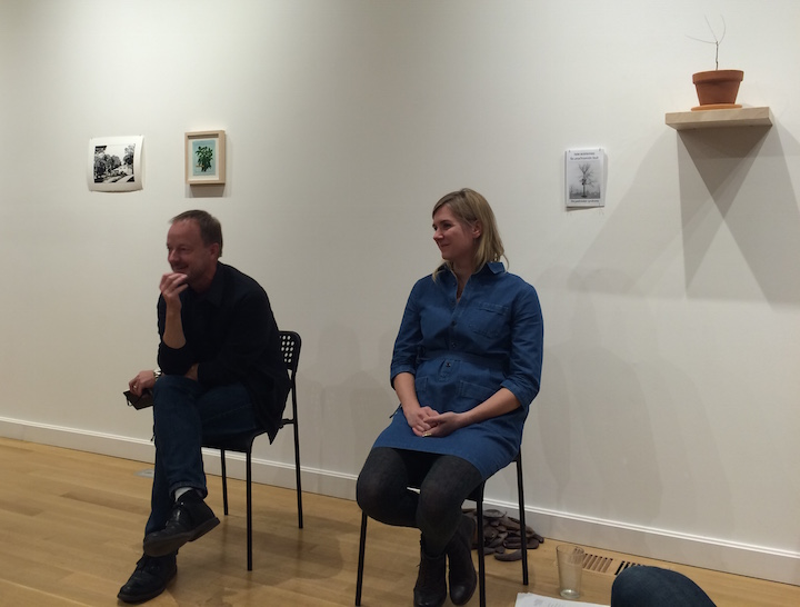 Mark Payne + Caroline Picard in conversation, Plant Symposium, 2015.