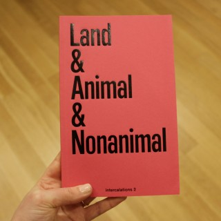 land & animal & nonanimal