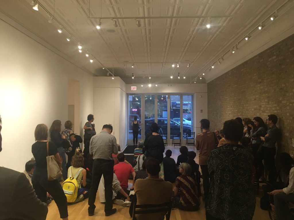 "Michal Samana begins Another Heav(enl)y Day, ""Wasted Hours-evening of performance,"" curated by Every house has a door, Sector 2337, 2016."