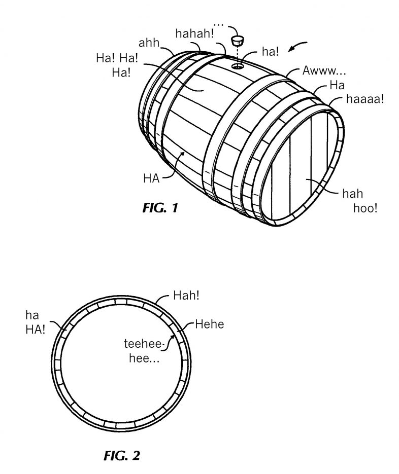 laughing-barrel-patent